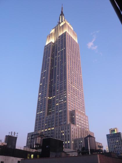 Das Empire State Building - das Wahrzeichen von Manhattan