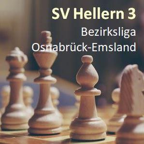 Hellern 3 hält an Verfolgerrolle fest und bleibt Bezirksliga-Zweiter