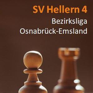 Jugend forsch(t) auch in der Bezirksliga: Hellerns Vierte spielt 4:4 gegen Bentheim-Nordhorn